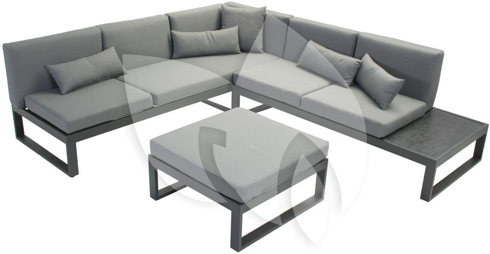 sens line loungeset malaga aluminium. Black Bedroom Furniture Sets. Home Design Ideas