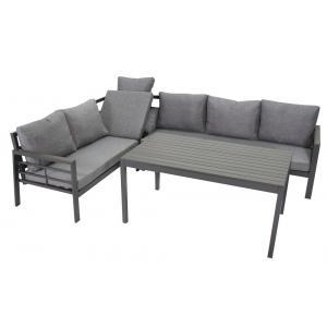 SenS line aluminium loungeset Brandon