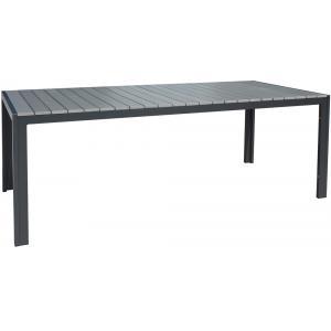 Jersey tuintafel grijs 220 cm