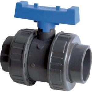 PVC kogelkraan met dubbele wartel - 50 mm
