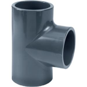 PVC t-stuk - 40 mm