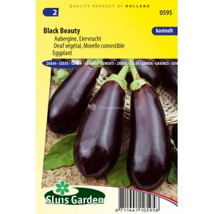 Aubergine zaden - Black Beauty