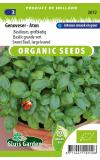 Basilicum biologische zaden - Genoveser - Gustaso