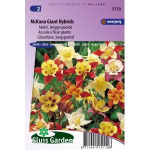 Korting Akelei langgespoorde bloemzaden McKana Giant Hybrids