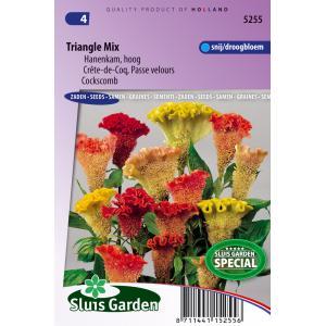 Korting Hanenkam hoog bloemzaden Triangle Mix