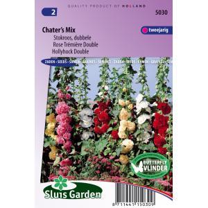 Korting Stokroos dubbele bloemzaden Chater's Mix