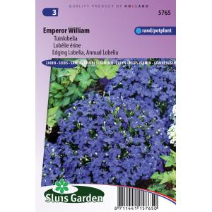 Tuinlobelia bloemzaden – Emperor William