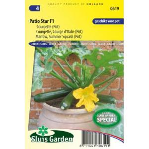 Courgette (pot) zaden - Patio Star F1