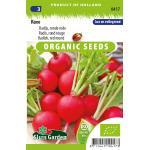 Radijs (ronde rode) biologische zaden - Raxe