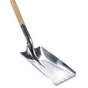 Dagaanbieding - Ballastschop 28.5 cm aluminium met houten steel 85 cm dagelijkse aanbiedingen