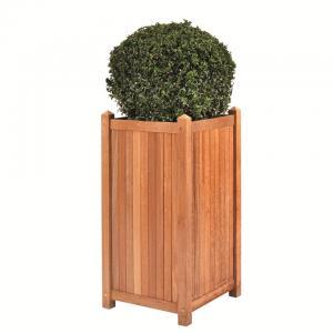 Java teaken plantenbak 45x45x90 cm