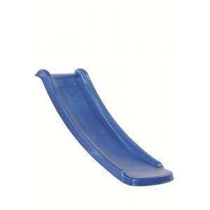 Kunststof glijbaan 130cm blauw - geschikt voor platformhoogte 60cm