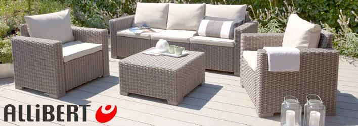 Tuinmeubelen - Loungesets - Allibert loungeset