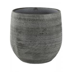 Esra mystic grijs bloempot binnen 15x13 cm