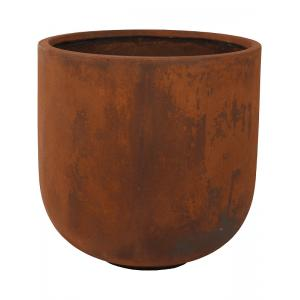 Ter Steege Static bloempot Couple 40x41 cm roest