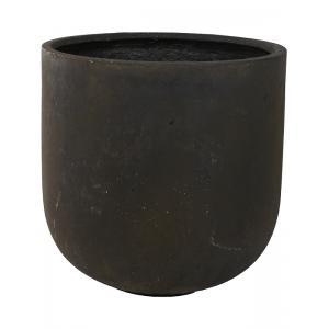 Ter Steege Static bloempot Couple 40x41 cm zwart
