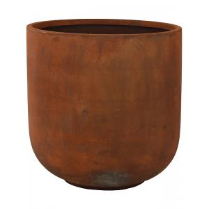 Ter Steege Static bloempot Couple 50x51 cm roest