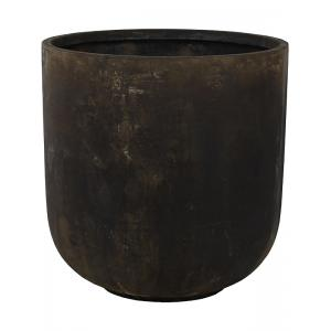 Ter Steege Static bloempot Couple 50x51 cm zwart