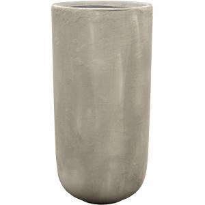 Ter Steege Static bloempot Partner 37x75 cm grijs