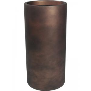 Ter Steege Charm bloempot Cylinder 37 x 90 cm brons