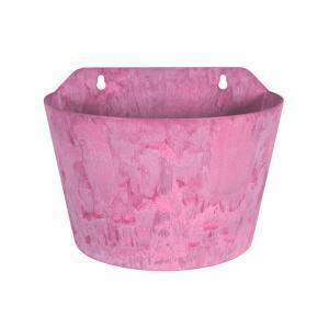 Ella wand bloempot 24x16x18 cm roze