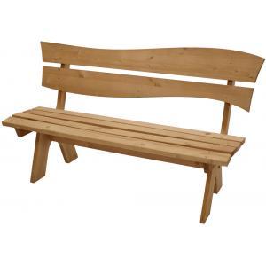 Bazel 3-persoons houten tuinbank