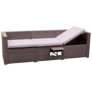 Messina 2-in-1 loungebank/ligbed