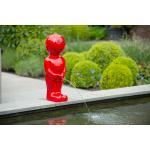 Spuitfiguur Boy 67 cm rood