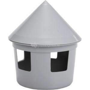 Duivendrinkbak 1 liter grijs